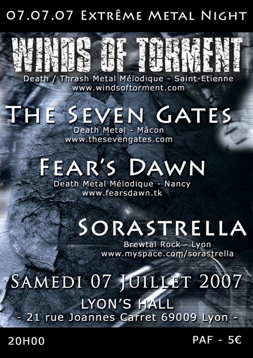 Extrême Metal Night @ Lyon